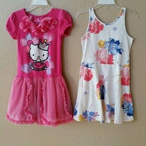 Hello Kitty and Old Navy Dress Bundle size 5
